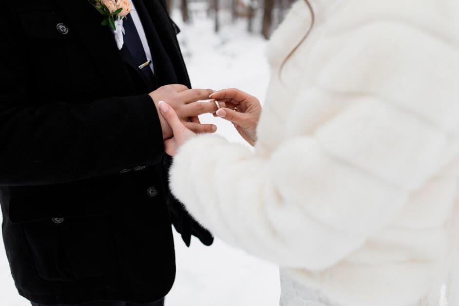 Il matrimonio natalizio perfetto